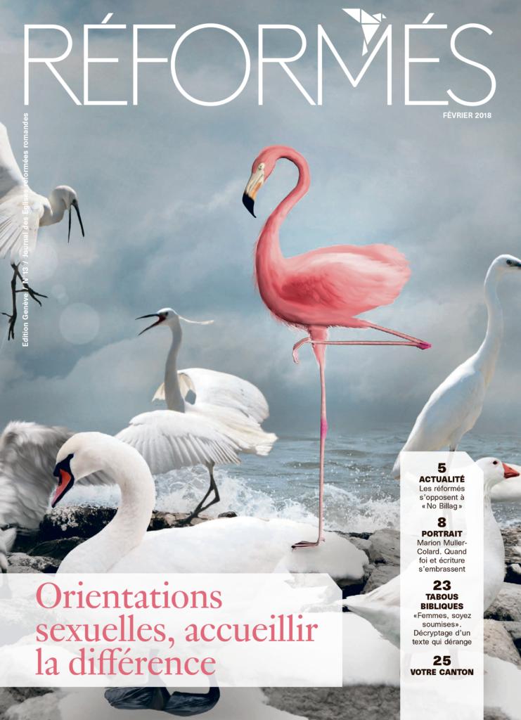 Alexia Rabé dans le magazine suisse Réformés